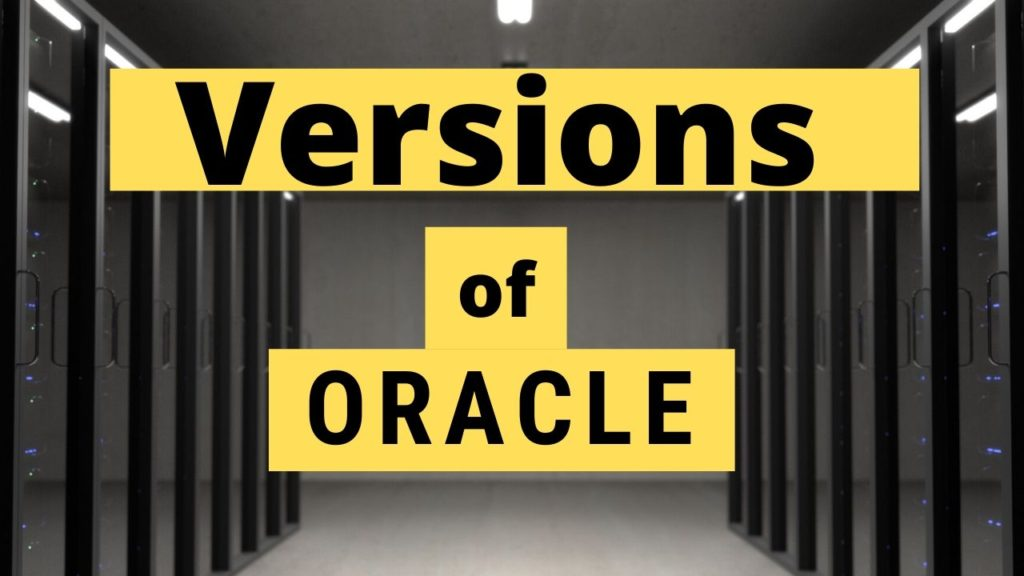 different-oracle-versions