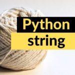 pythonstring